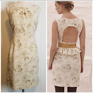 ANTH,  Moulinette Soeurs Cut-Out Back Dress